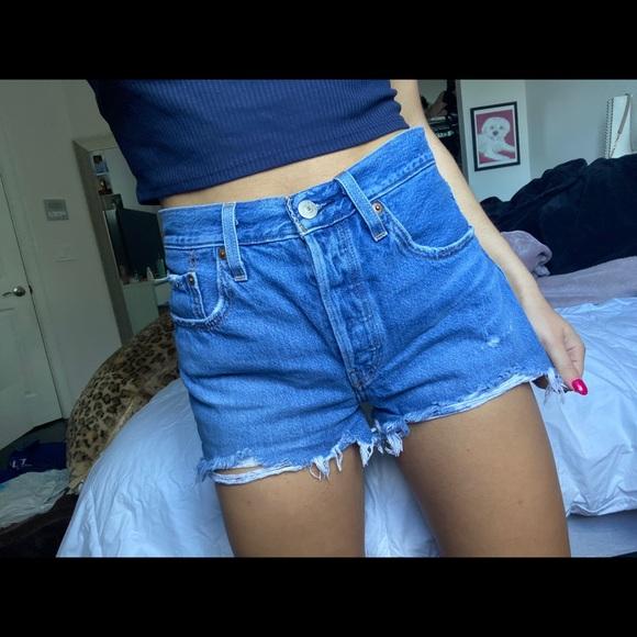 Levi's 501 jeans shorts